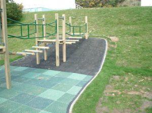 playground concrete kerb edge