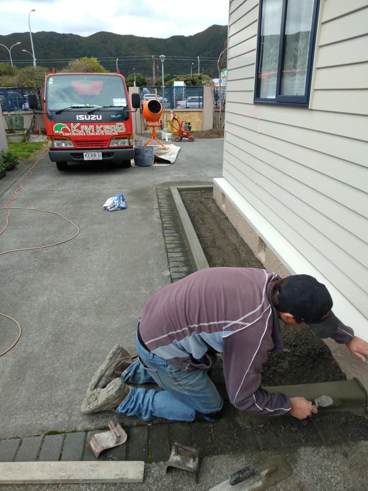 concrete curbs lower hutt